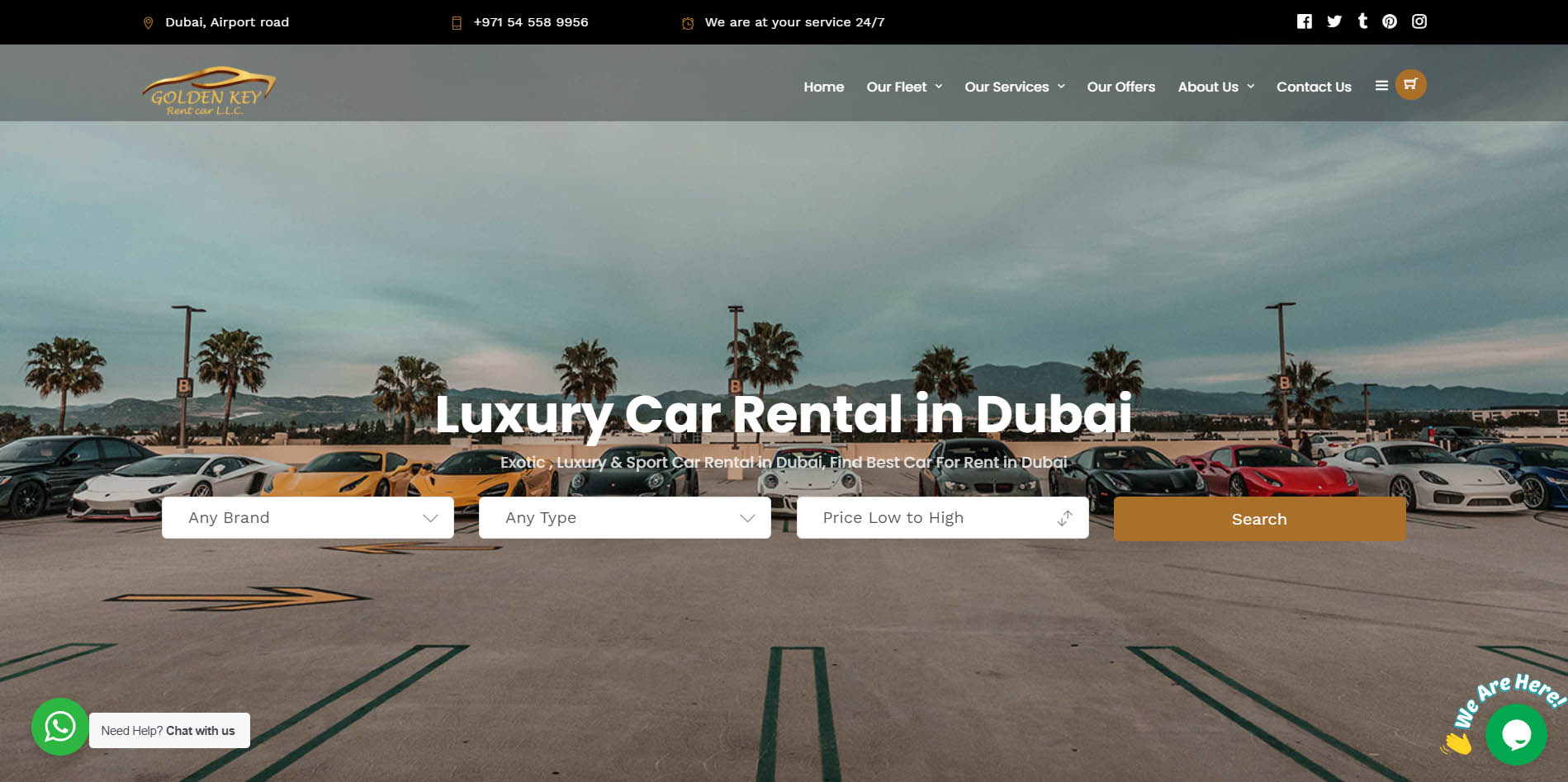 Gk Car Rental Dubai